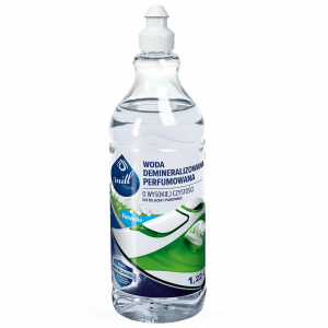 MILL CLEAN WODA DEMINERALIZOWANA DO ŻELAZEK I PAROWNIC KONWALIA 1220 ML