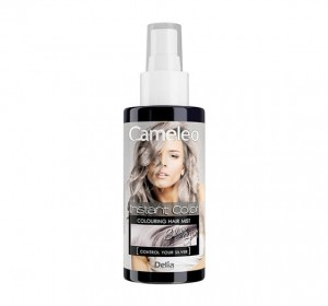 DELIA CAMELEO  INSTANT COLOR PŁUKANKA SILVER SPRAY 150 ML